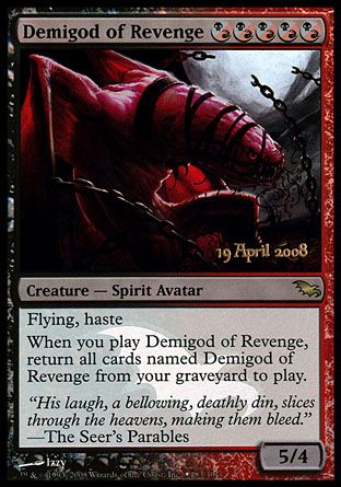 Demigod of Revenge, Prerelease Events