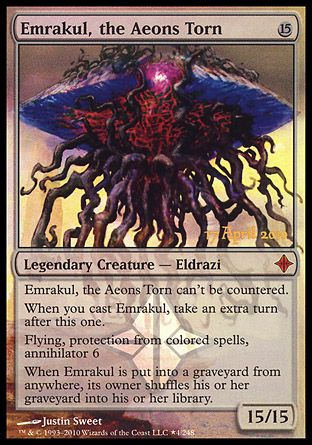 Emrakul, the Aeons Torn, Prerelease Events