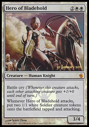 Hero of Bladehold, Prerelease Events
