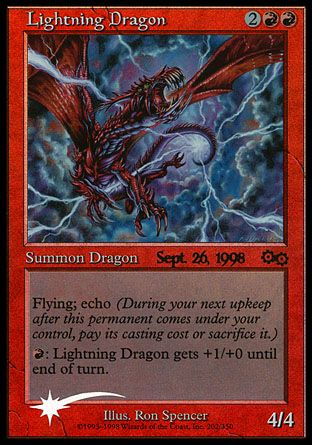 Lightning Dragon, Prerelease Events