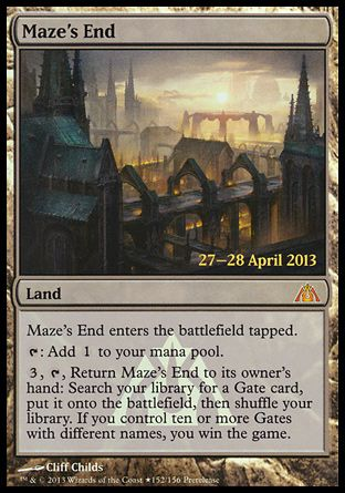 Maze's End, Prerelease Events