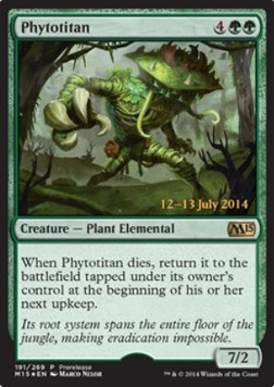 Phytotitan, Prerelease Events
