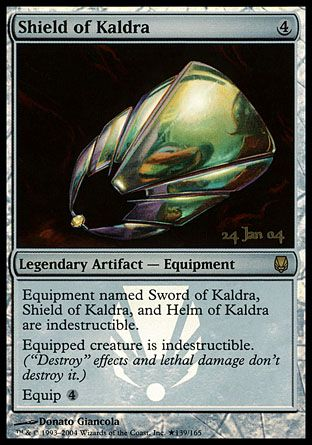 Shield of Kaldra, Prerelease Events