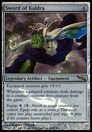 Sword of Kaldra, Prerelease Events