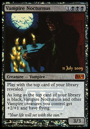 Vampire Nocturnus, Prerelease Events
