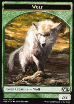 Wolf token, Prerelease Events