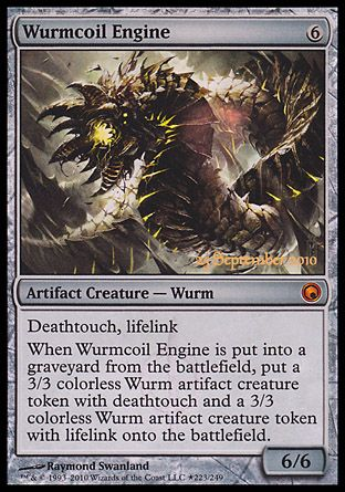 Wurmcoil Engine, Prerelease Events