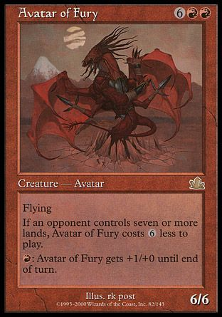 Avatar of Fury, Prophecy