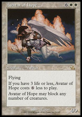 Avatar of Hope, Prophecy