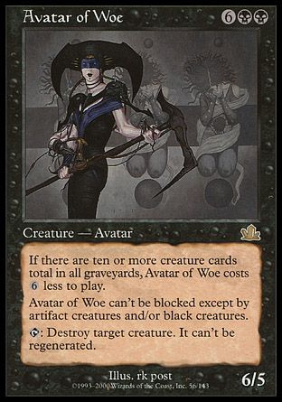 Avatar of Woe, Prophecy