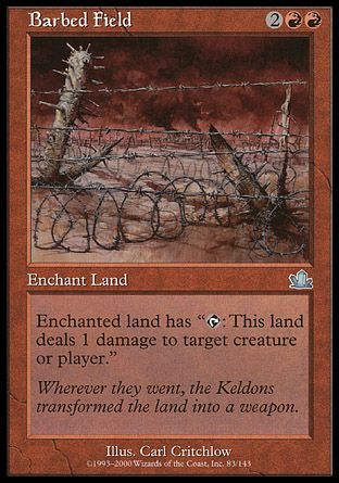 Barbed Field, Prophecy