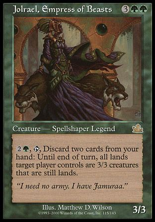 Jolrael, Empress of Beasts, Prophecy
