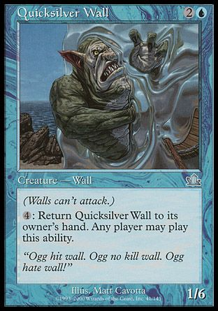 Quicksilver Wall, Prophecy