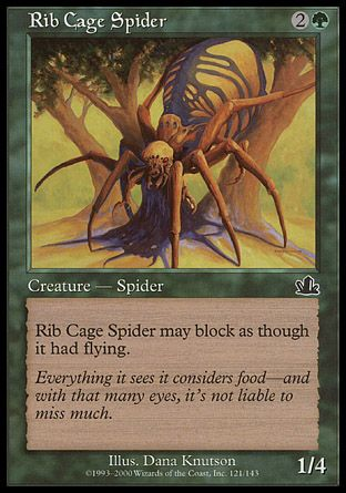 Rib Cage Spider, Prophecy