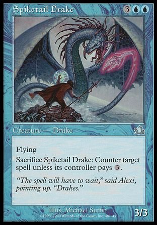 Spiketail Drake, Prophecy