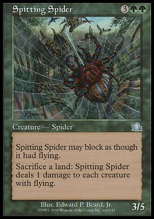 Spitting Spider, Prophecy