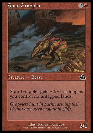 Spur Grappler, Prophecy