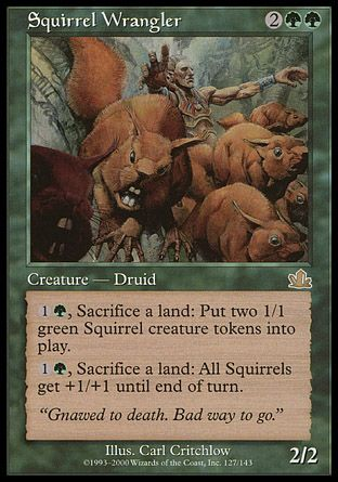 Squirrel Wrangler, Prophecy