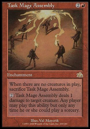 Task Mage Assembly, Prophecy