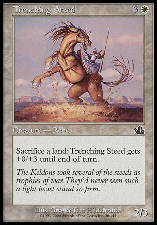 Trenching Steed, Prophecy
