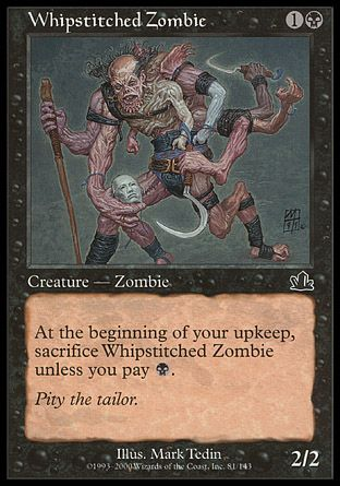 Whipstitched Zombie, Prophecy