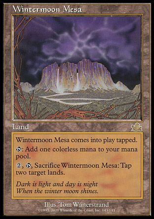 Wintermoon Mesa, Prophecy