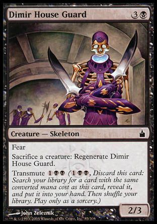 Dimir House Guard, Ravnica