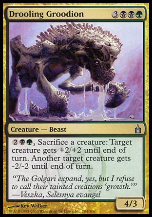 Drooling Groodion, Ravnica