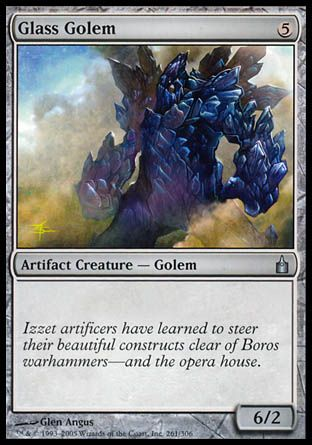 Glass Golem, Ravnica