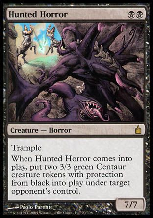 Hunted Horror, Ravnica