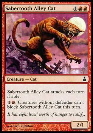 Sabertooth Alley Cat, Ravnica