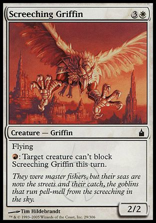 Screeching Griffin, Ravnica