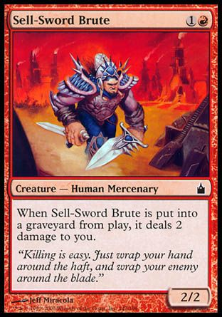 Sell-Sword Brute, Ravnica
