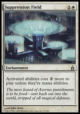 Suppression Field, Ravnica