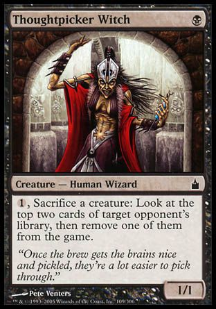 Thoughtpicker Witch, Ravnica