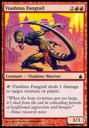 Viashino Fangtail, Ravnica