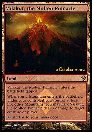 Valakut, the Molten Pinnacle, Release Promos