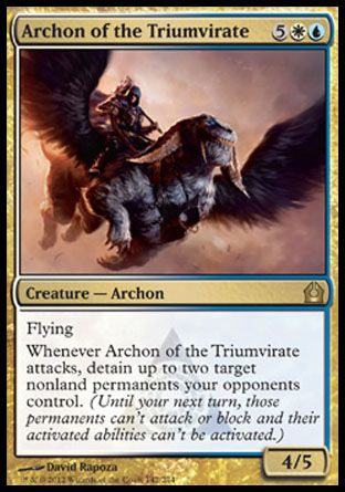 Archon of the Triumvirate, Return to Ravnica