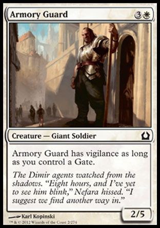Armory Guard, Return to Ravnica