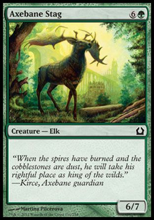 Axebane Stag, Return to Ravnica