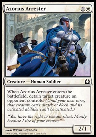 Azorius Arrester, Return to Ravnica