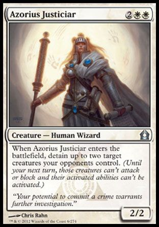 Azorius Justiciar, Return to Ravnica