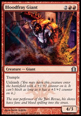Bloodfray Giant, Return to Ravnica