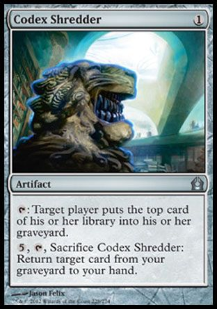 Codex Shredder, Return to Ravnica