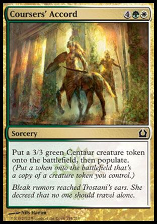 Coursers' Accord, Return to Ravnica