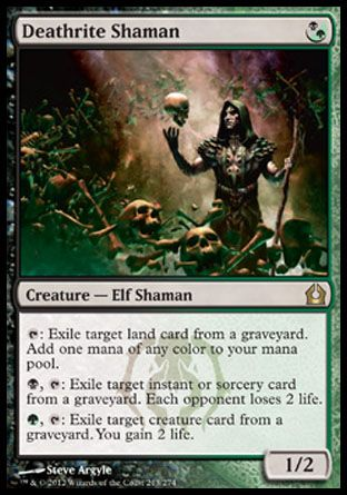 Deathrite Shaman, Return to Ravnica