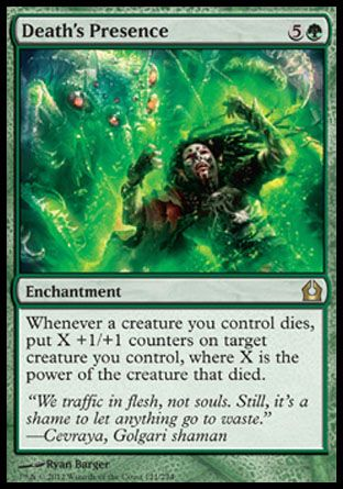 Death's Presence, Return to Ravnica