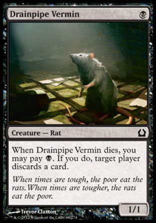 Drainpipe Vermin, Return to Ravnica