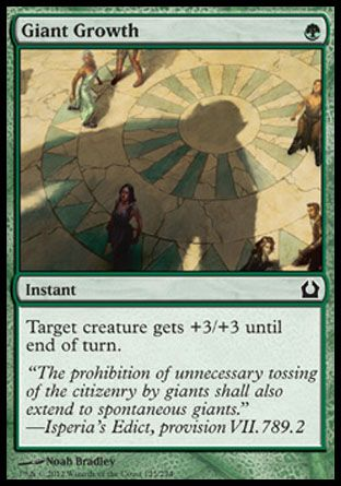 Giant Growth, Return to Ravnica