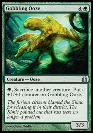 Gobbling Ooze, Return to Ravnica